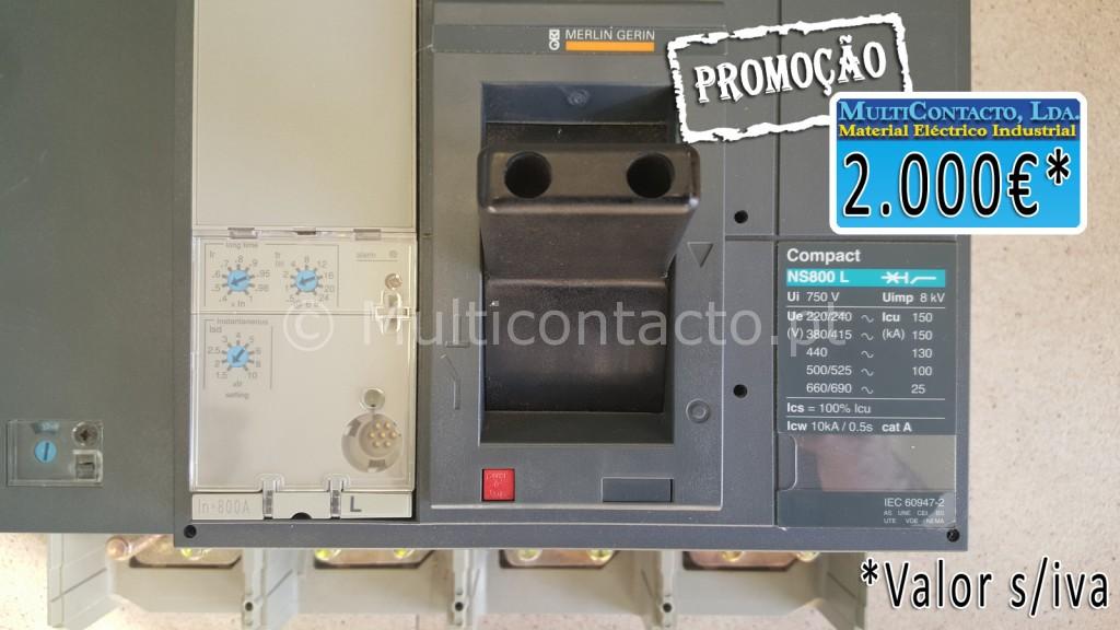 Disjuntor-NS800L- 4P